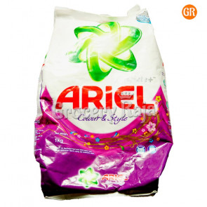 Ariel Complete Shine Colour & Style Detergent Powder 2 Kg