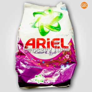 Ariel Complete Shine Colour & Style Detergent Powder 1 Kg
