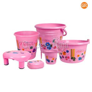 Aristo Dyna Economy Bathroom Set 6 Pcs