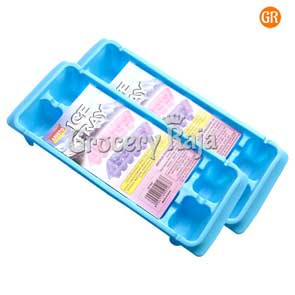Plastic Ice Tray 2 Pcs