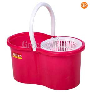 Aristo Super Spin Mop Bucket 7 Ltr Approx - Color May Vary