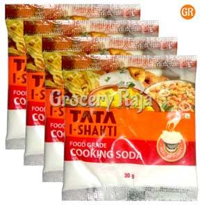 Tata I-Shakti Cooking Soda 30 gms (Pack of 4)