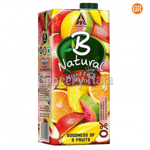 B Natural Mixed Fruit Merry 1 Ltr
