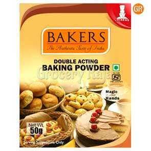 Bakers Double Acting Baking Powder 50 gms