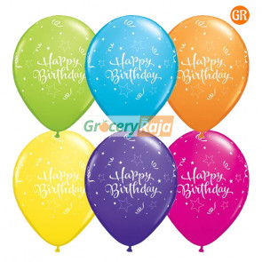 Happy Birthday Balloons Big Size 1 Packet 50 nos
