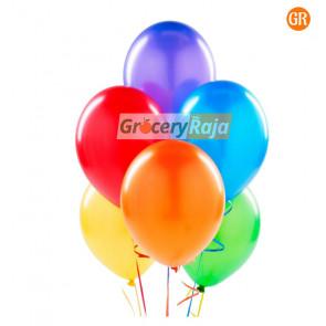 Party Balloons MultiColor Balloons 50 nos