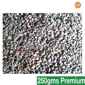 Black Sesame Seeds - Ellu (கருப்பு எள்ளு) 250 gms