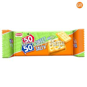 Britannia 50-50 Sweety Salty Biscuit Rs. 10