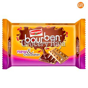 Britannia Bourbon The Original Cream Biscuit Rs.10