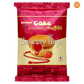 Britannia Cake Strawbery Muffills Rs. 10