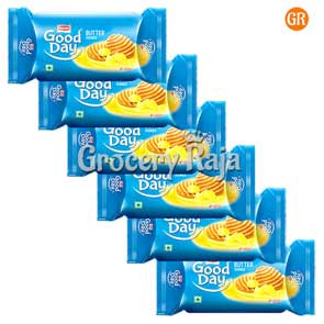 Britannia Good Day Cookies - Rich Butter Rs. 10 ( Pack of 6 )