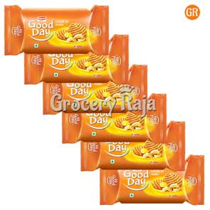 Britannia Good Day Cookies - Rich Cashew Rs. 15 ( Pack of 6 )