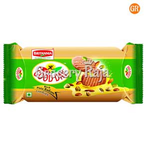 Britannia Good Day Rich Pista Badam Cookies Rs. 20