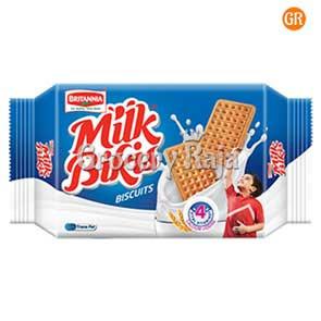 Britannia Milk Bikis Milk Cream Biscuits Rs. 20