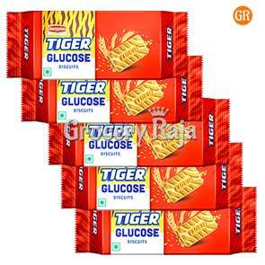 Britannia Tiger - Glucose Biscuits Rs. 3 (Pack of 5)