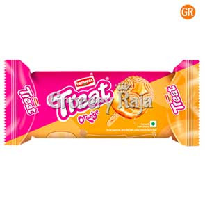 Britannia Treat Orange Cream Biscuit Rs.10