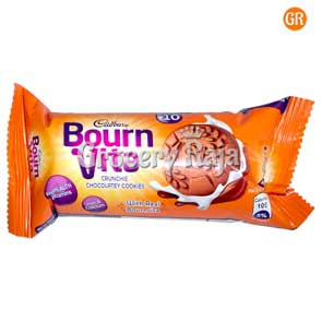 Cadbury Bournvita Crunchie Chocolatey Cookies Rs. 10