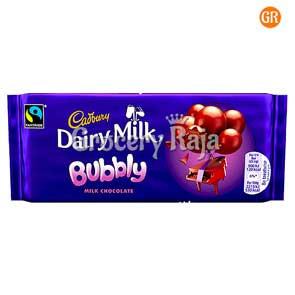 Cadbury Diary Milk Silk Bubbly Chocolate 50 gms