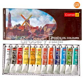 Camel Artists Oil Colours - 12 Shades