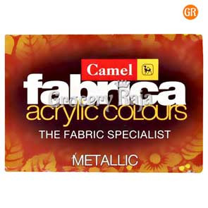Camel Fabrica Acrylic Colours Metallic - 4 Shades
