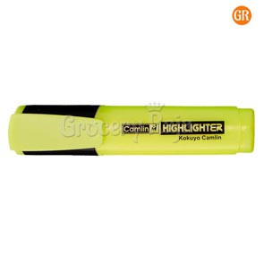Camlin Highlighter Marker Pen - Yellow