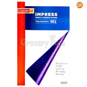 Camlin Impress Pencil Carbon Papers 100 Sheets