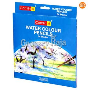 Camlin Water Colour Pencils - 24 Shades