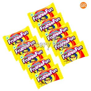 Candyman Fruity Fun Rs. 1 (Pack of 10)