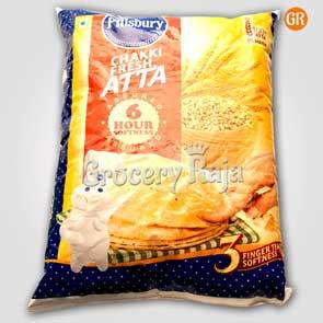 Pillsbury Chakki Fresh Atta 5 Kg