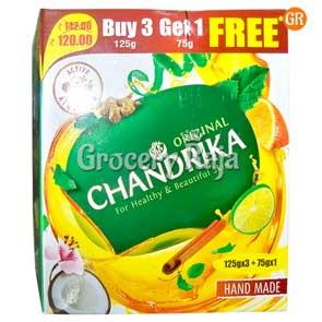 Chandrika Original Soap 125 gms Buy 3 Get 1 FREE
