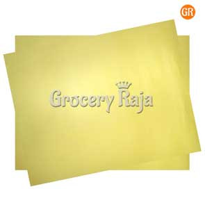 Chart Paper Yellow (Pack of 2)