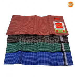 Vandu Cotton Lungi CHECKERED - Stitched 1 pc