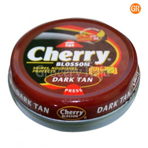Cherry Blossom Dark Tan Shoe Polish 15 gms