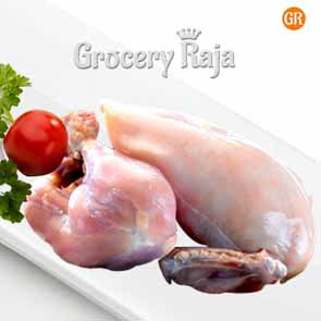 Whole Chicken Skinless 1 Kg