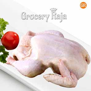 Whole Chicken with Skin 1 Kg