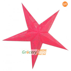 Christmas Star Plastic - 5 Pointed Star