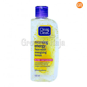 Clean & Clear Face Wash - Energizing Lemon 50 ml