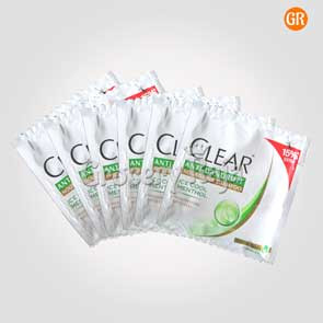 Clear Anti Dandruff Ice Cool Menthol Shampoo Rs.3 Sachet (Pack of 6)