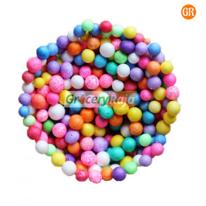 Color Thermocol Balls Packet