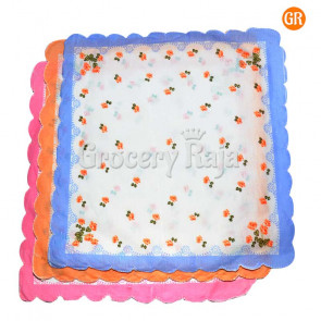 "Ladies Handkerchief 14""X14"" (Pack of 3)"