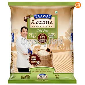Daawat Basmati Rice - Rozana 1 Kg Pouch