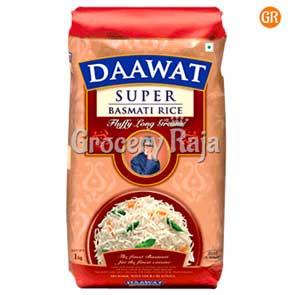Daawat Basmati Rice - Super 1 Kg Pouch