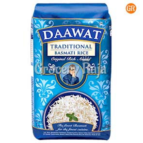 Daawat Basmati Rice - Traditional 1 Kg Pouch