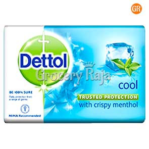 Dettol Bathing Soap - Cool 125 gms