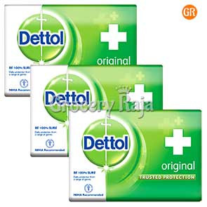 Dettol Original Soap 125 gms (Pack of 3)