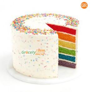 Rainbow Cake Butter Cream 1 Kg
