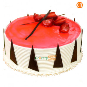 Strawberry Cake Butter Cream 1 Kg - Single Layer