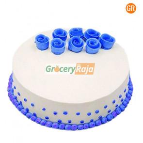 Vanilla Cake Butter Cream 1 Kg - Single Layer
