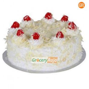 White Forest Cake Fresh Cream 1 Kg