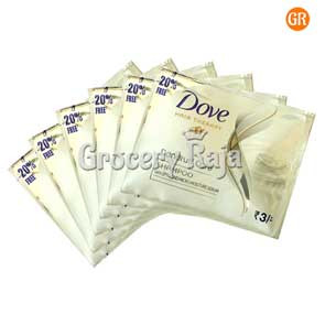 Dove Dandruff Care Shampoo Rs. 3 Sachet (Pack of 6)